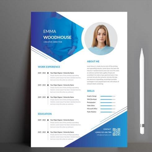 Creative Resume main cover.