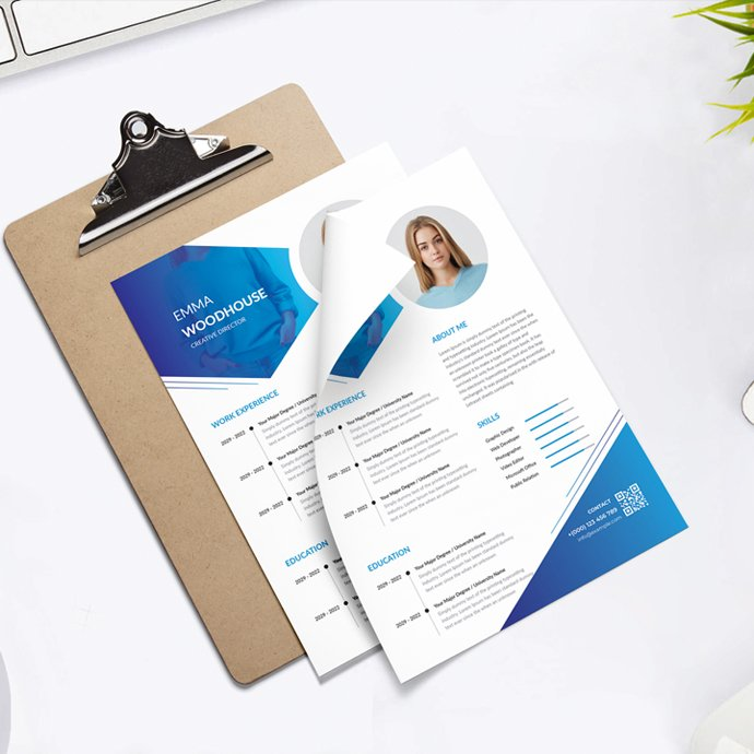 Creative Resume cover image.