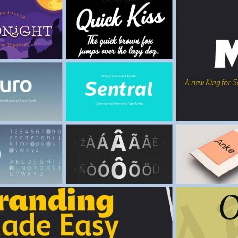 MT 10 Best Fonts for Brochures in 2021 Example.