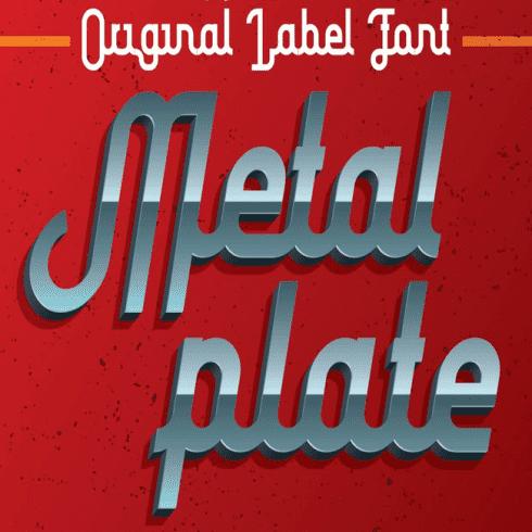 Metal Plate main cover.