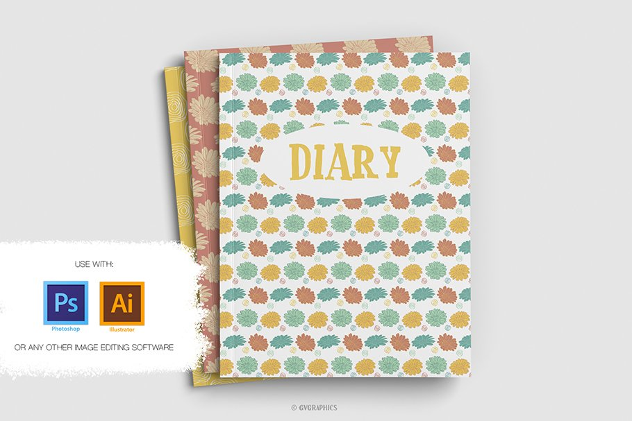 These are great options for diary or notebook covers.