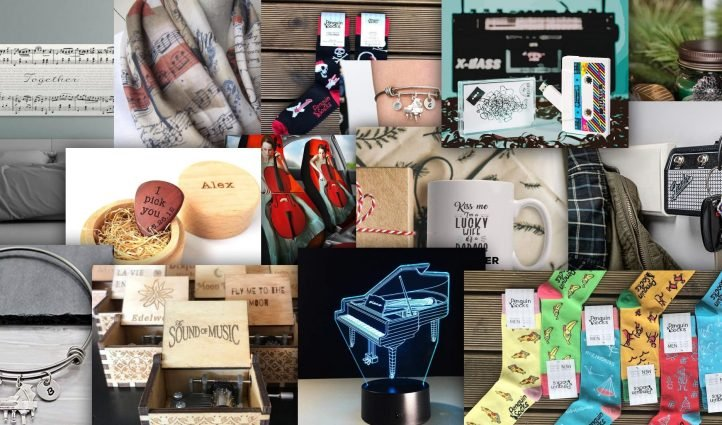 Best Gifts for Musicians & Music Lovers Example.