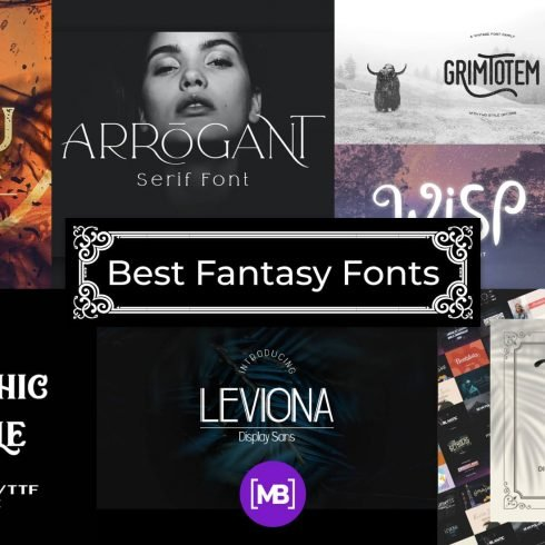 10+ Best Fantasy Fonts for 2021: Free and Premium