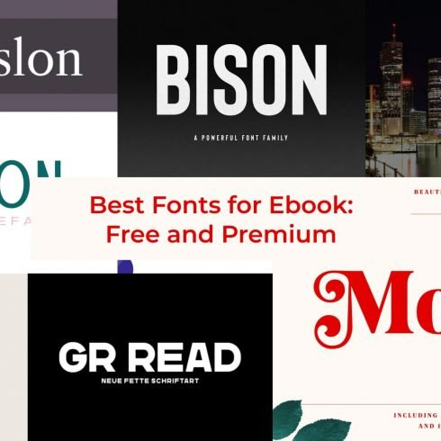 10+ Best Fonts for Ebooks in 2021: Free and Premium