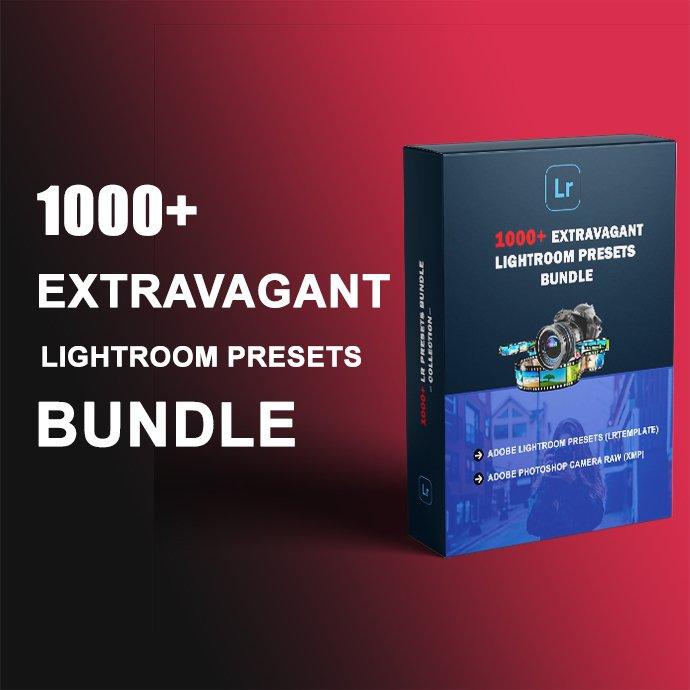 1000+ Extravagant Lightroom Preset Bundle Example.