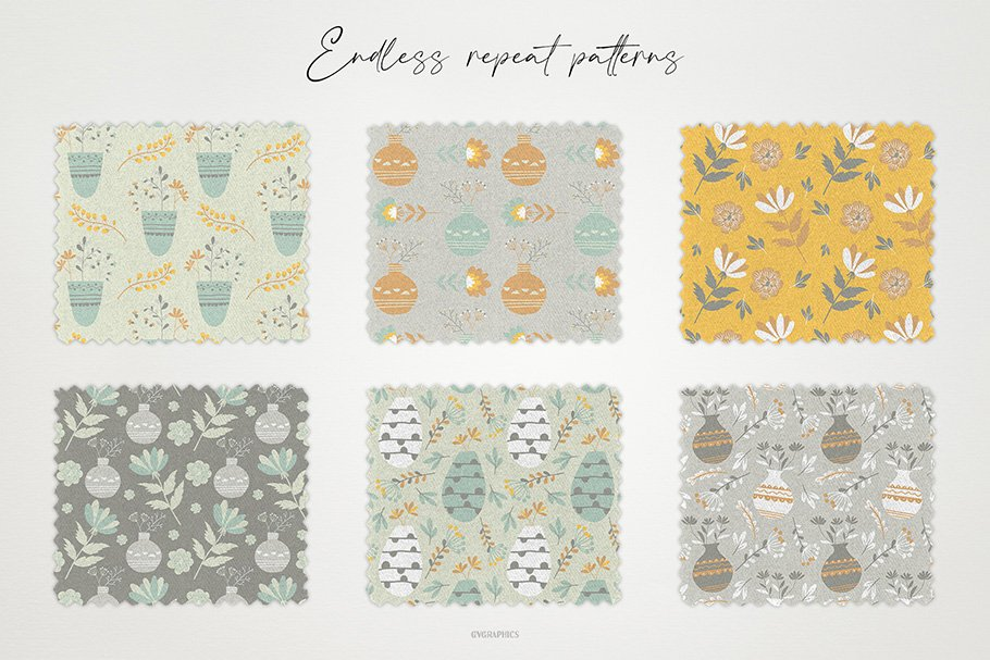 Delicate, pastel textures that perfectly decorate any surface.