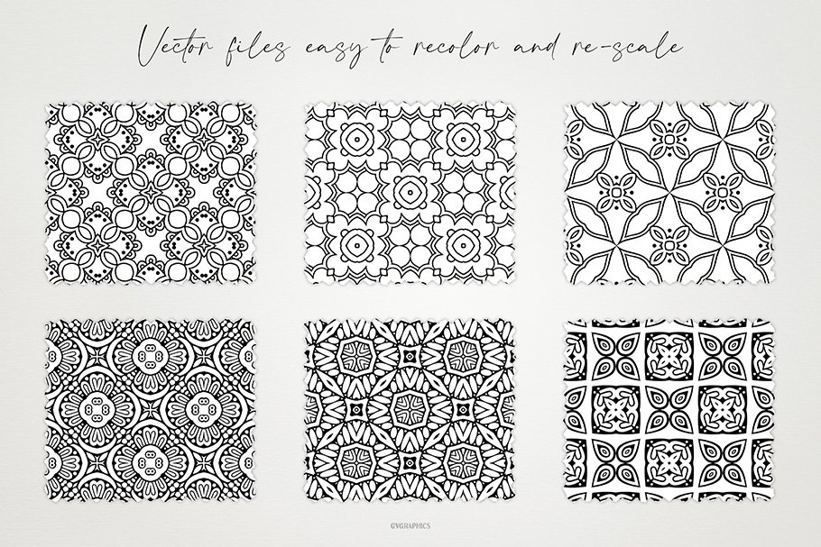 The flowers are decorated with thin black and white lines, similar to the occult and carry a lot of meaning.