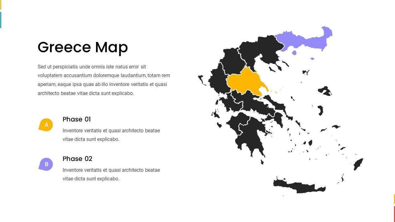 Greece map.