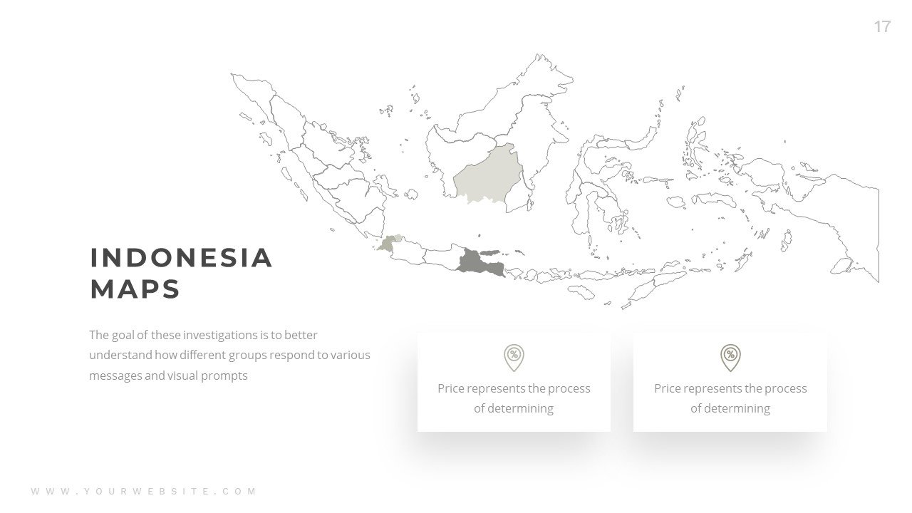 Indonesia maps in grey color.