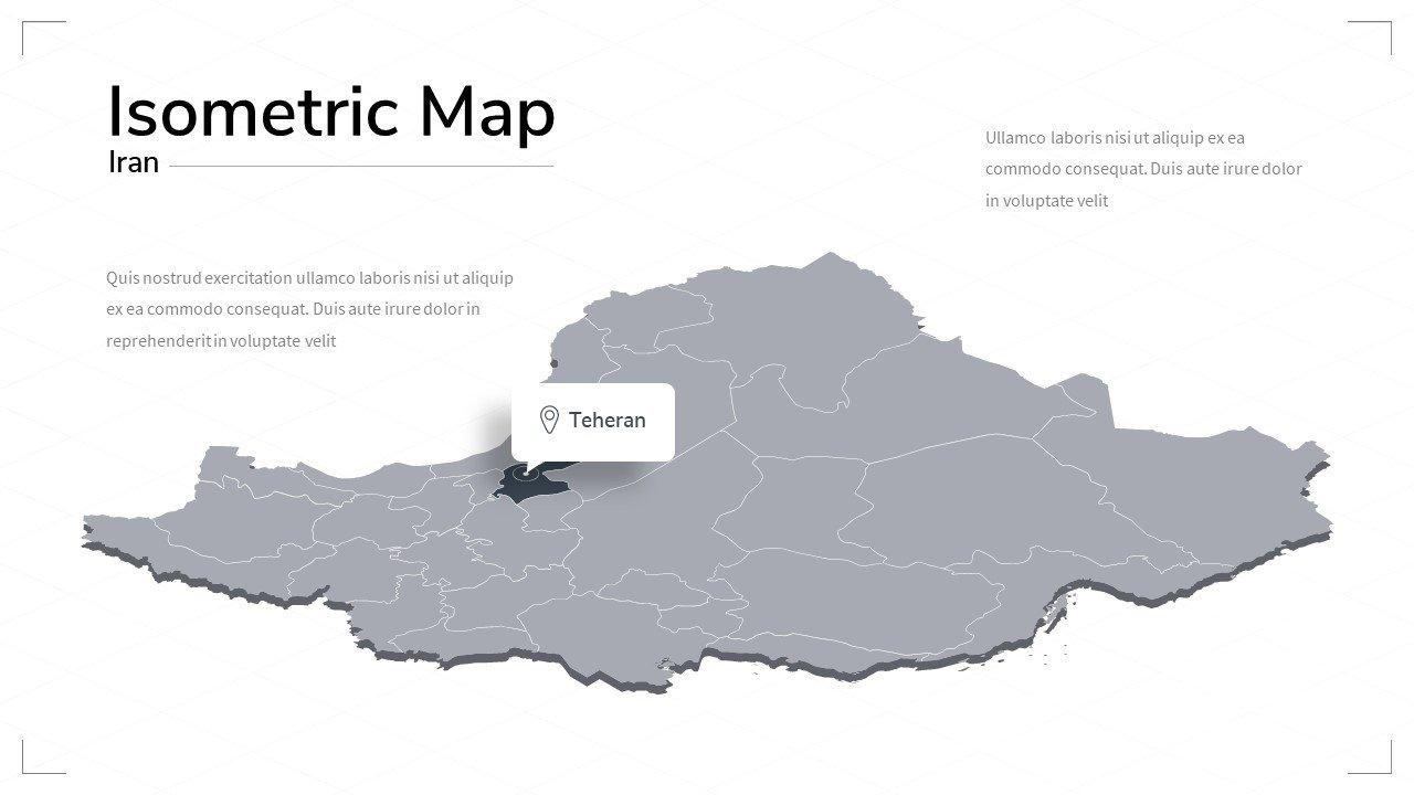 Iran map.