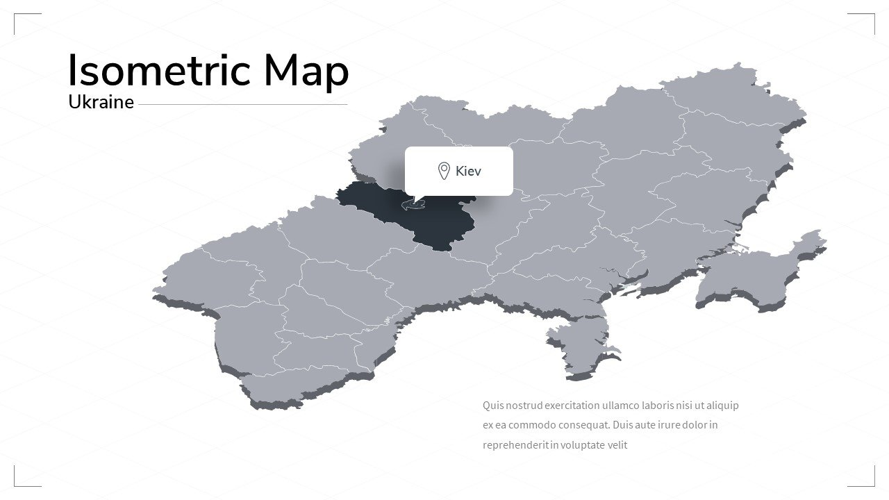 Ukraine map.