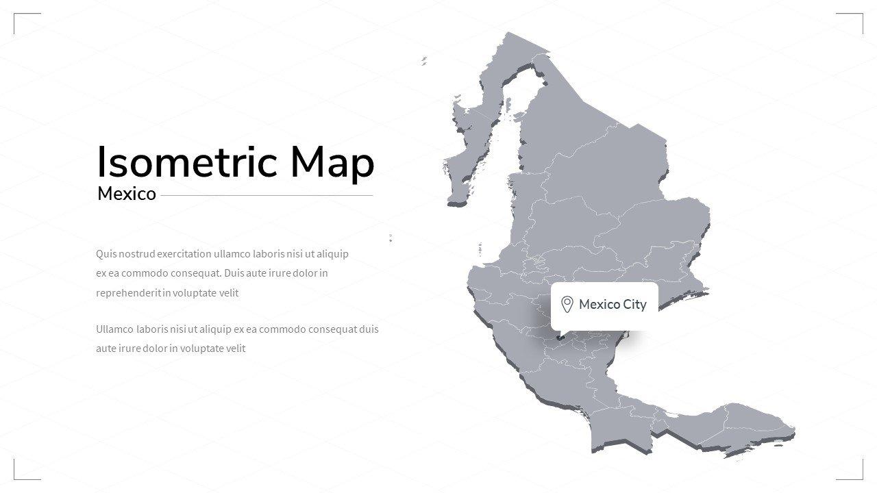 Mexico map.