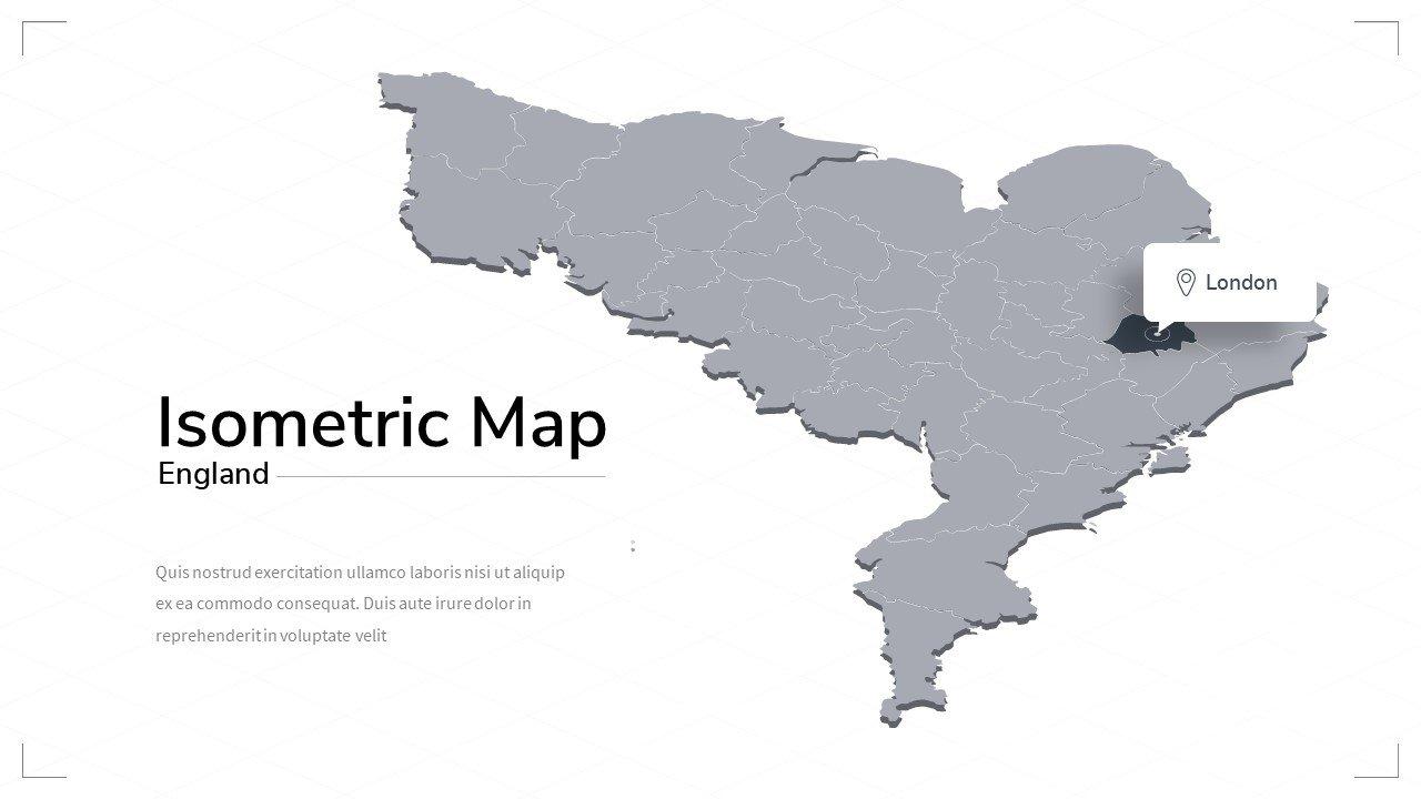 England map.