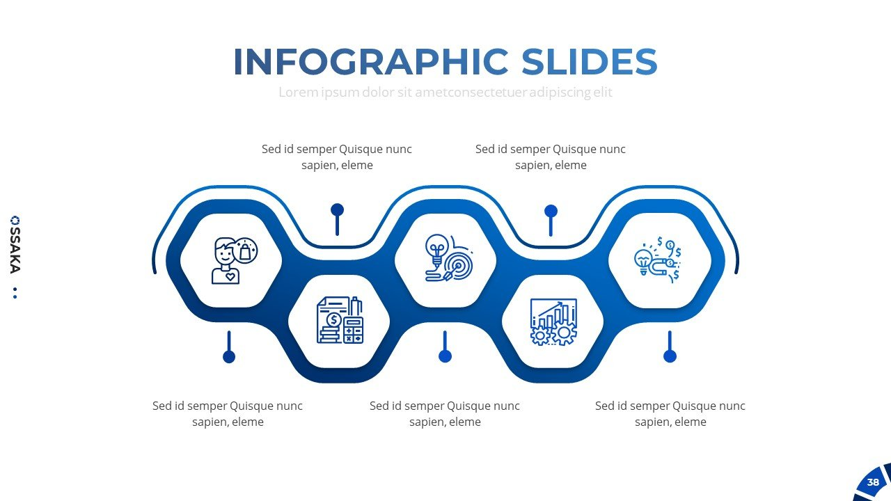 Infographic in honeycomb format.