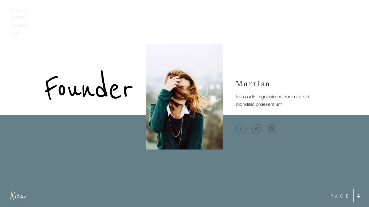 Here you can write all what you want about founder.