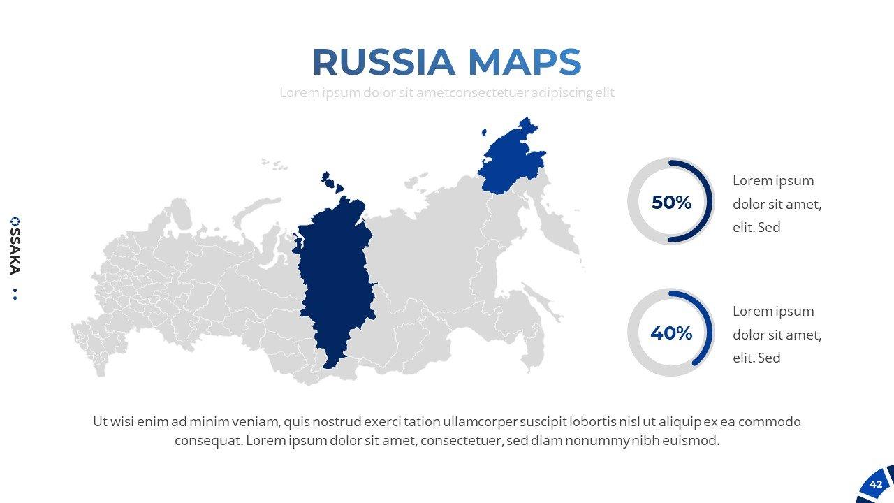 Russia maps.