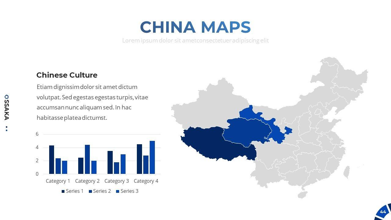 China maps.