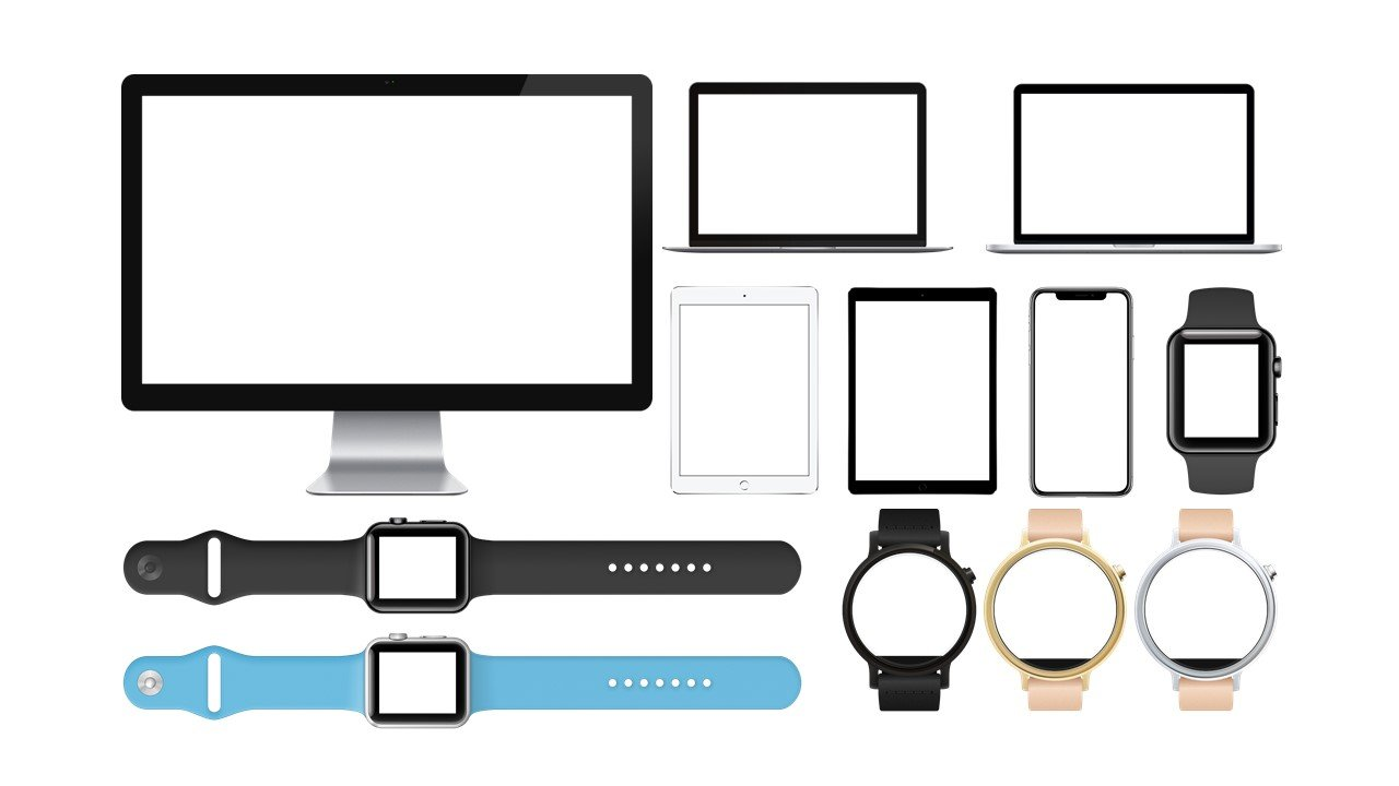 Variants of devices on which the presentation is adapted.