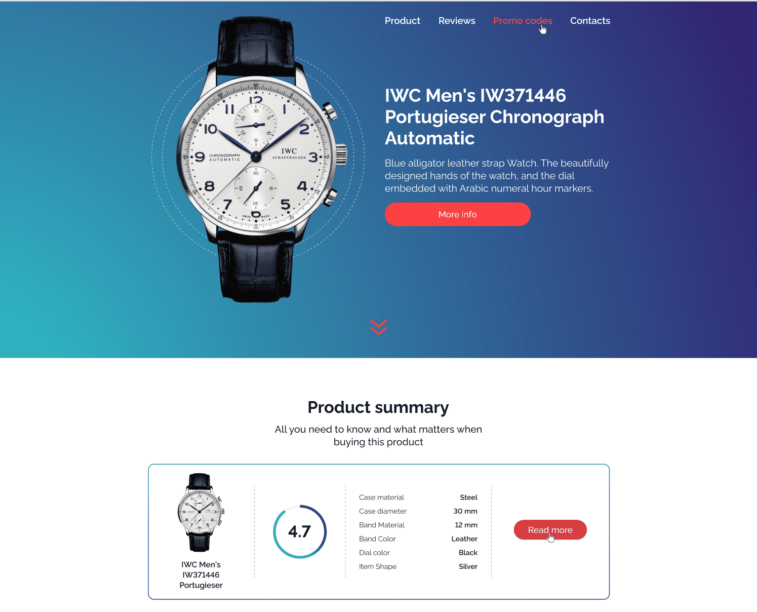 WatchReview - Client Review Responsive HTML Template.