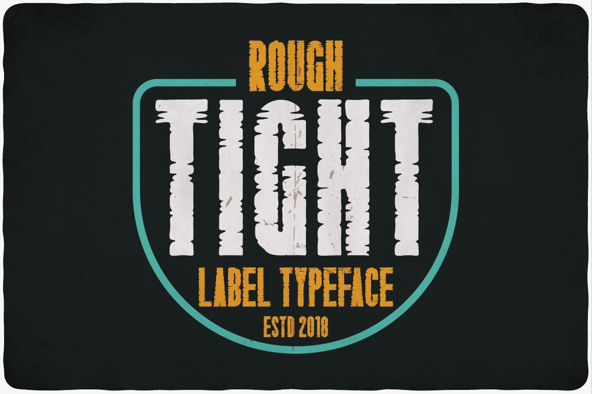 Urban style - black background, bright turquoise wrapper and yellow and white font.