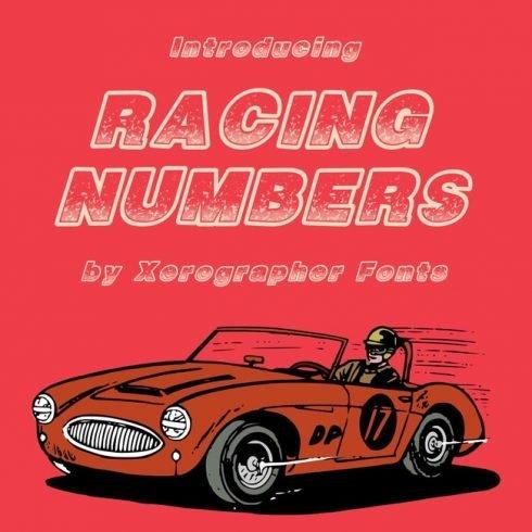 01 FRee racing font main cover.