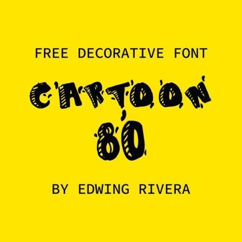 01 Free Cartoon Font main cover.