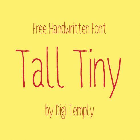 01 Free Tall Tiny Font main cover.