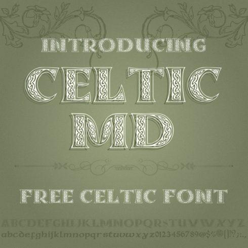 01 Free celtic font 1100x1100 1