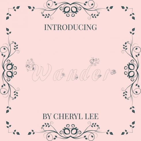 01 Free flower font main cover.