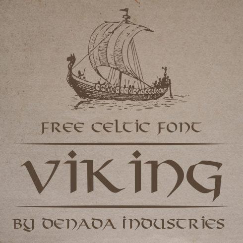 Free viking font main cover.