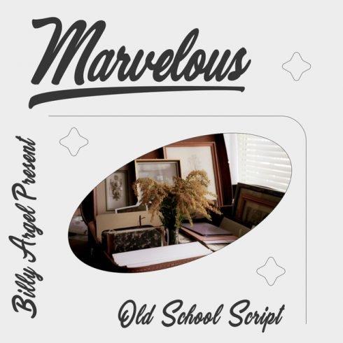 01 Marvelous free marvel font main cover.