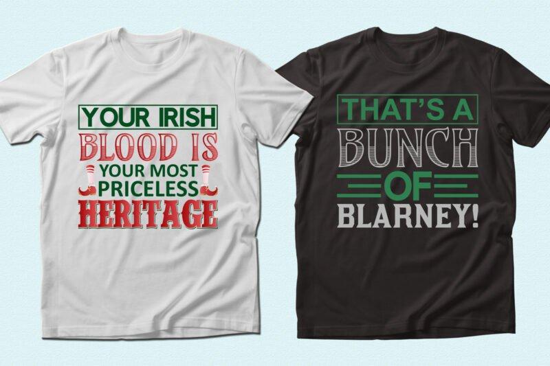 3D vivid font on the t-shirts.
