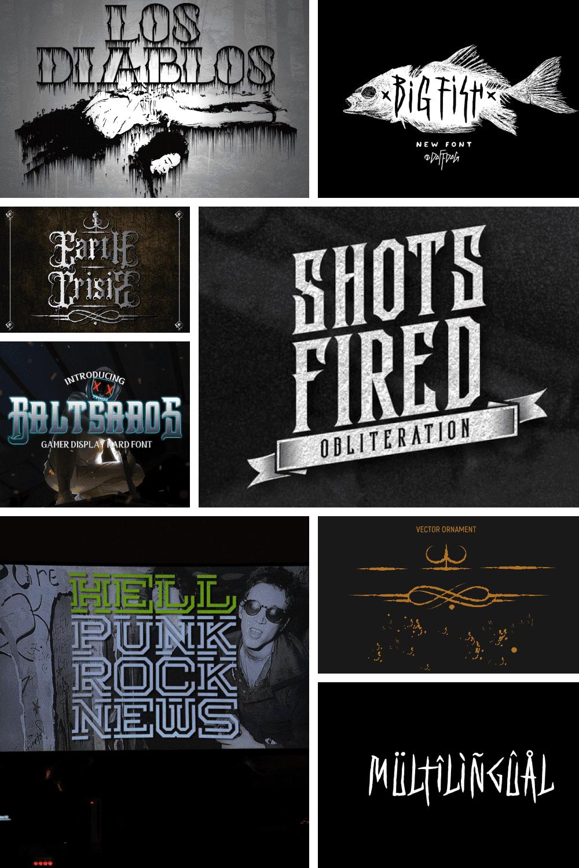 Best Black Metal Fonts Pinterest.