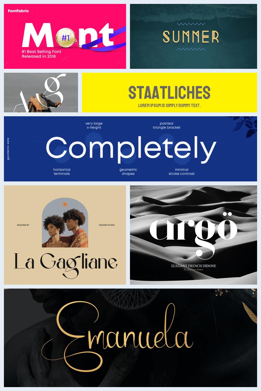 Google Fonts for Logos Pinterest.