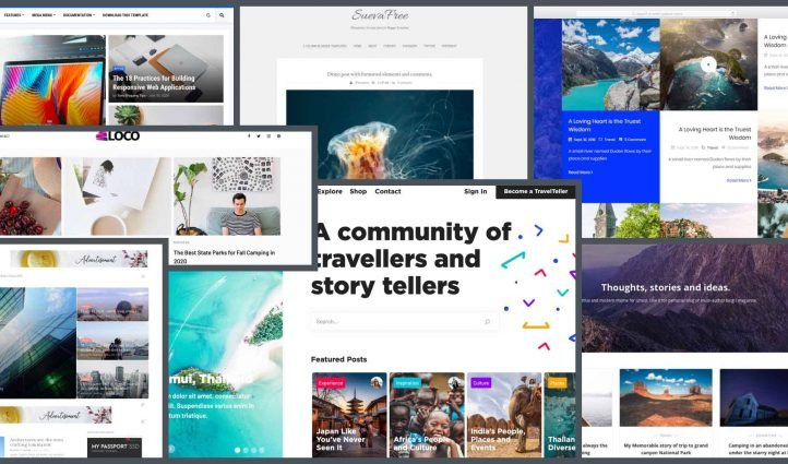 10 Best Travel Blog Templates in 2021 Example.