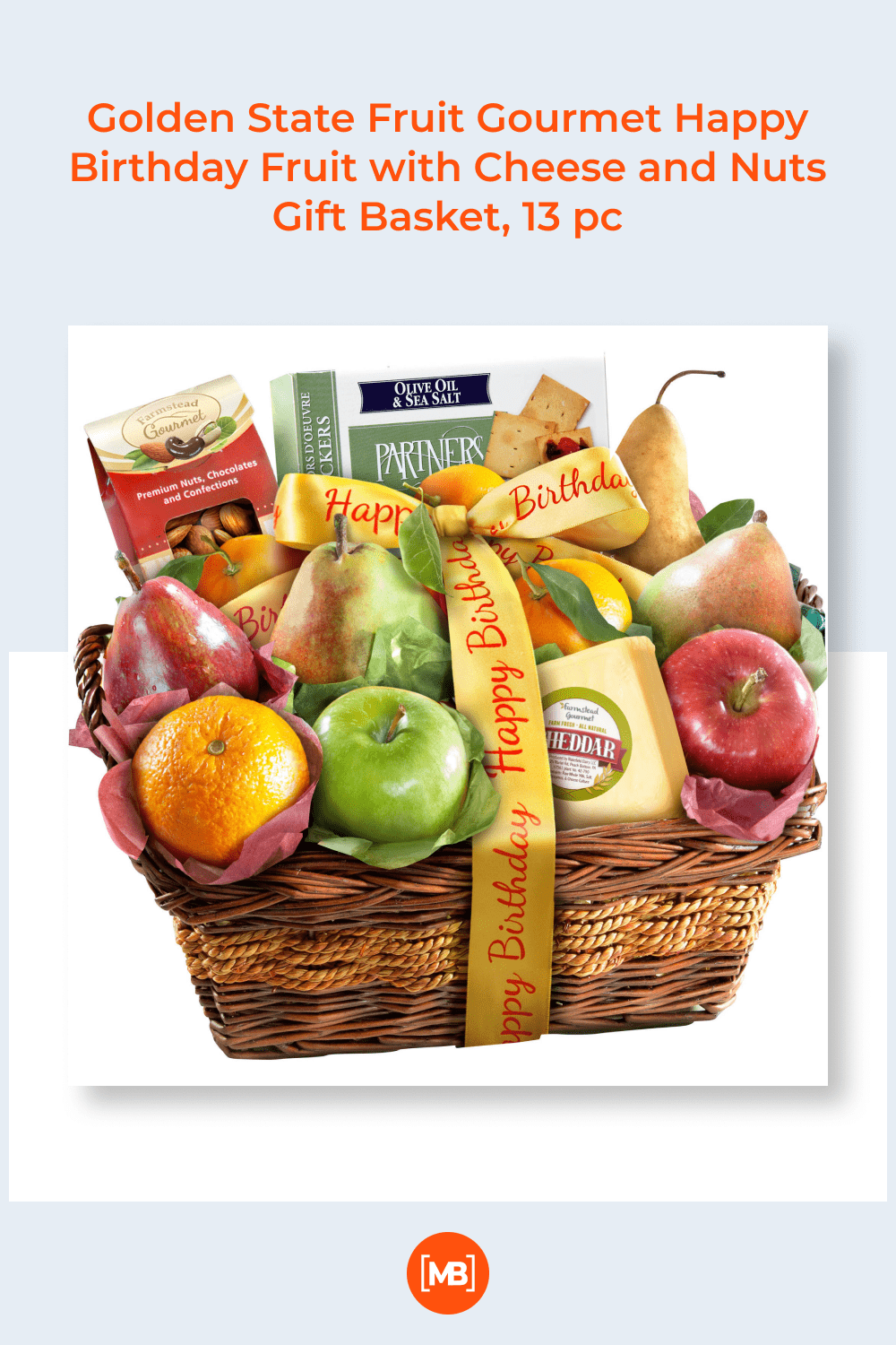 A large basket with all sorts of goodies. There are products for everyone here.