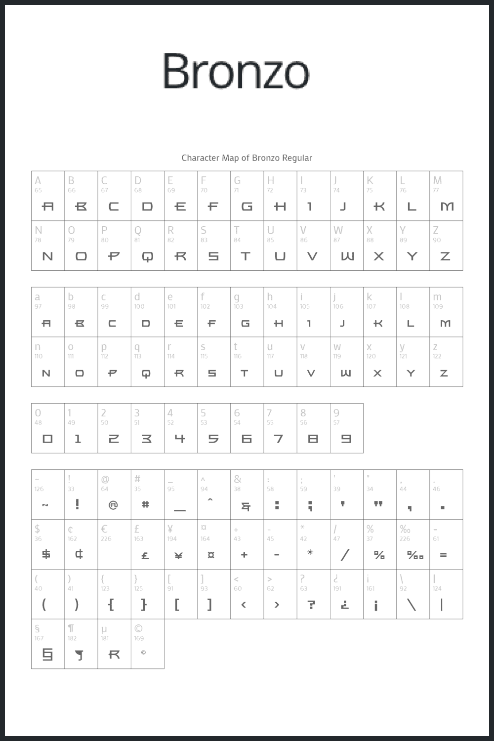 Font in different styles which can use in a lot of projects.