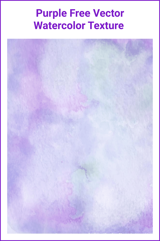 Gender purple watercolor texture.