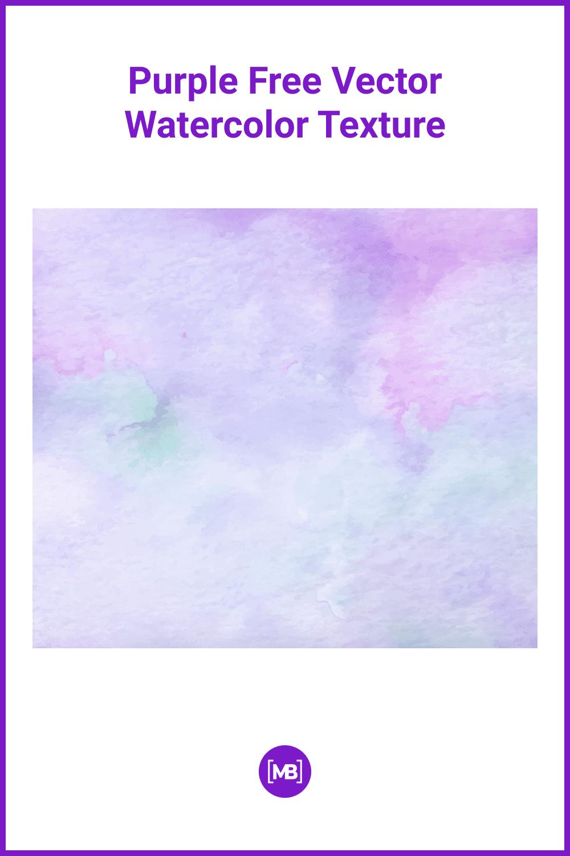 Light purple watercolor texture.
