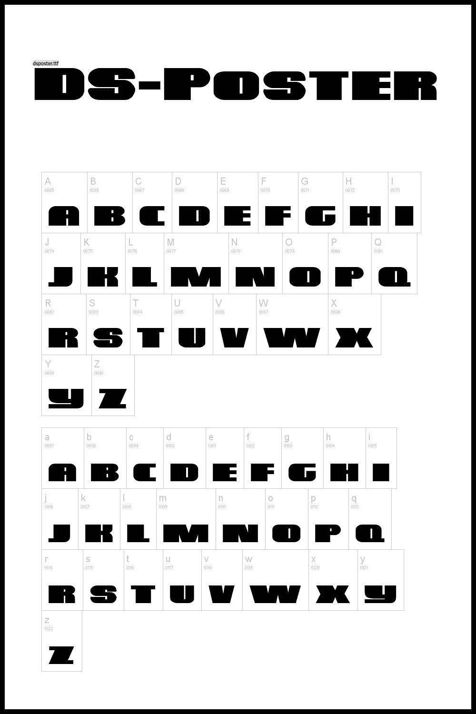 Bold large font.