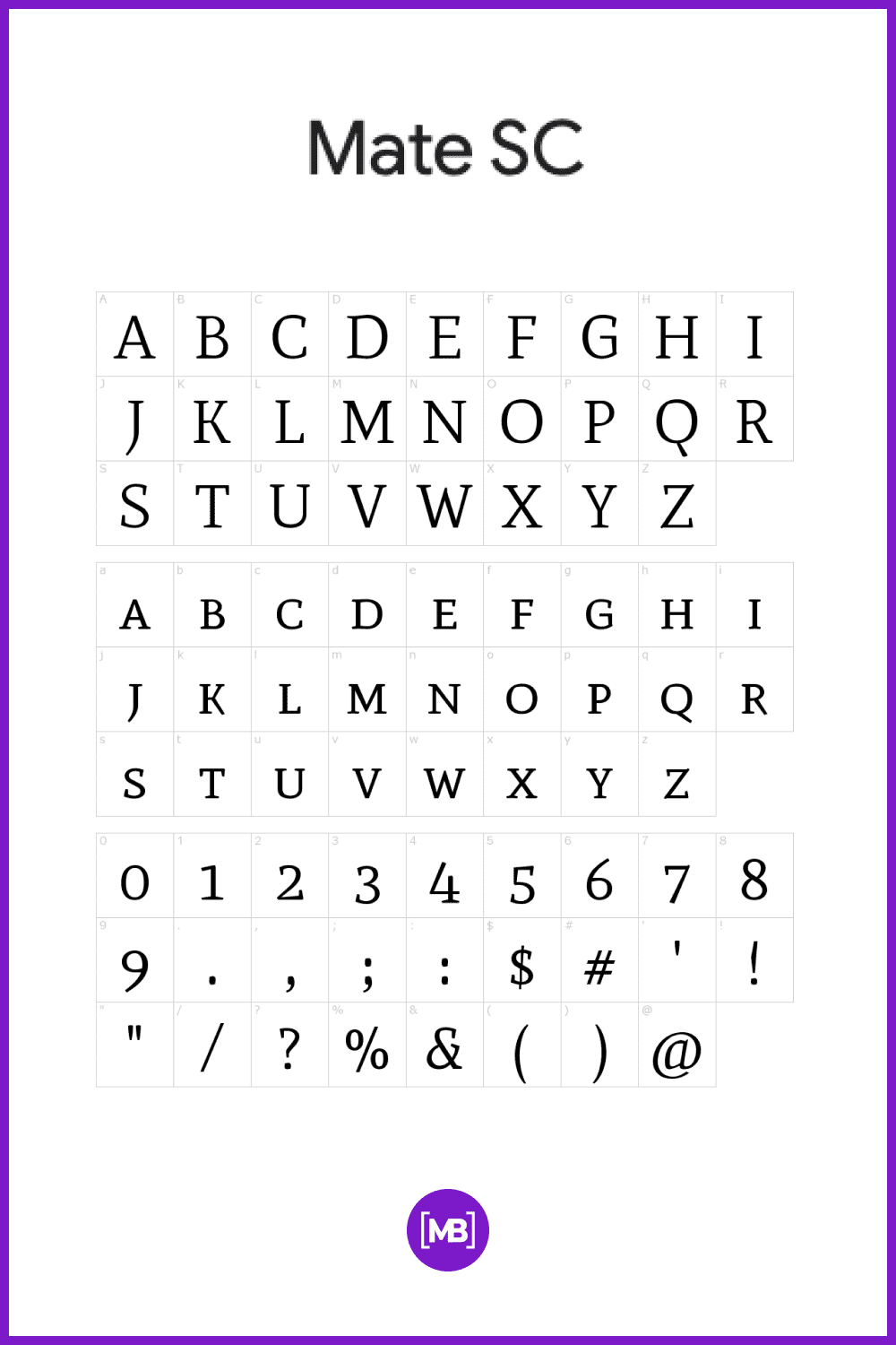 Simple in its structure; sharp and generous counter-shapes which create a medium texture that calls for good page color, in addition to offering a more relaxed reading experience for each line of text.