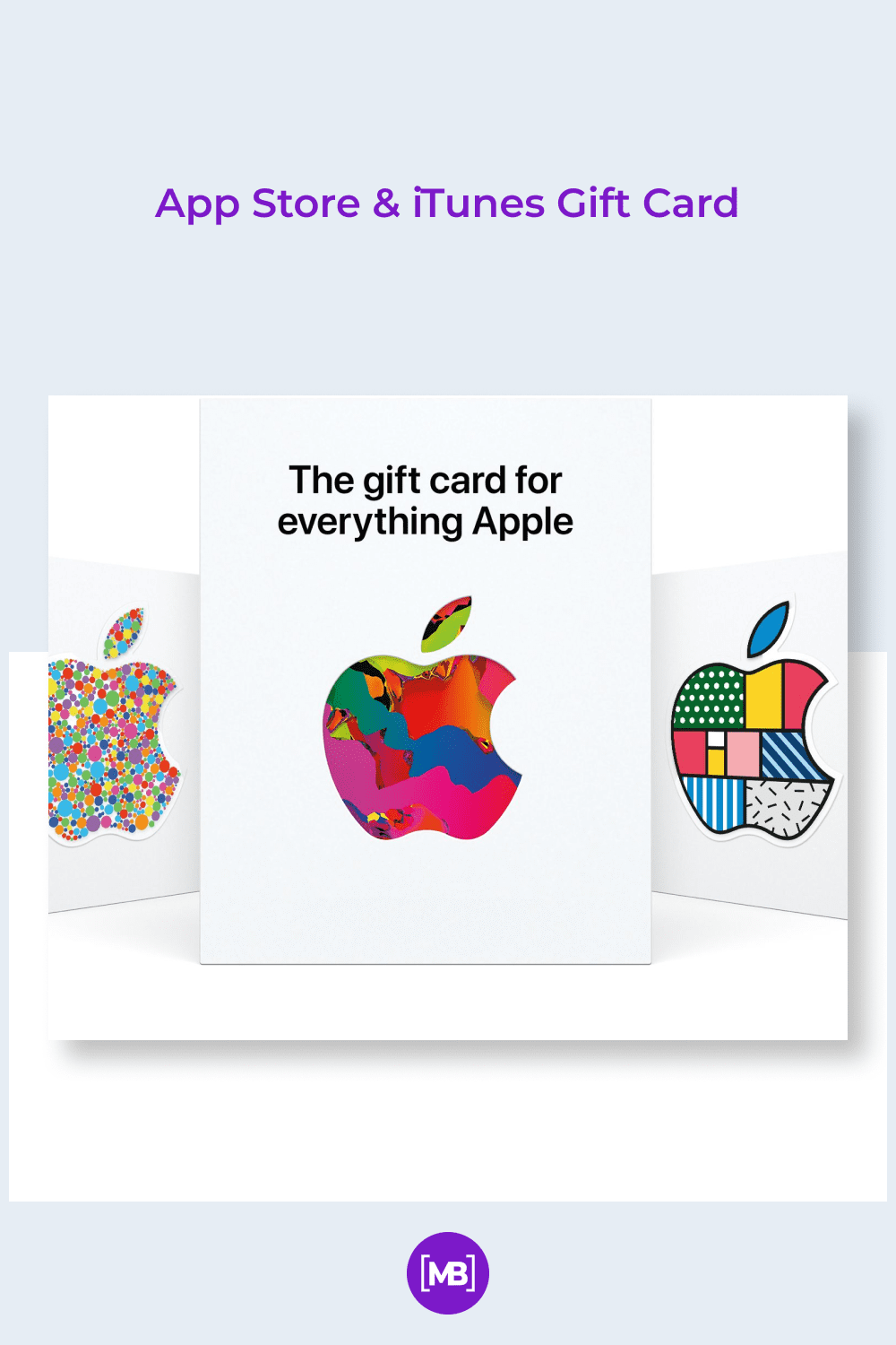 The Apple gift card looks no worse than the company's products.