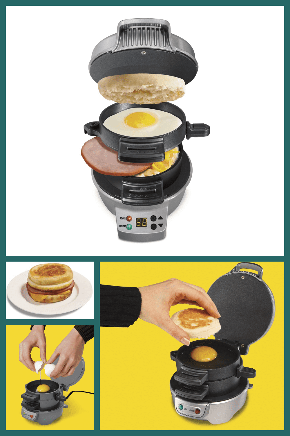 A great device for a quick breakfast when you've overslept or consciously lay down longer than usual.