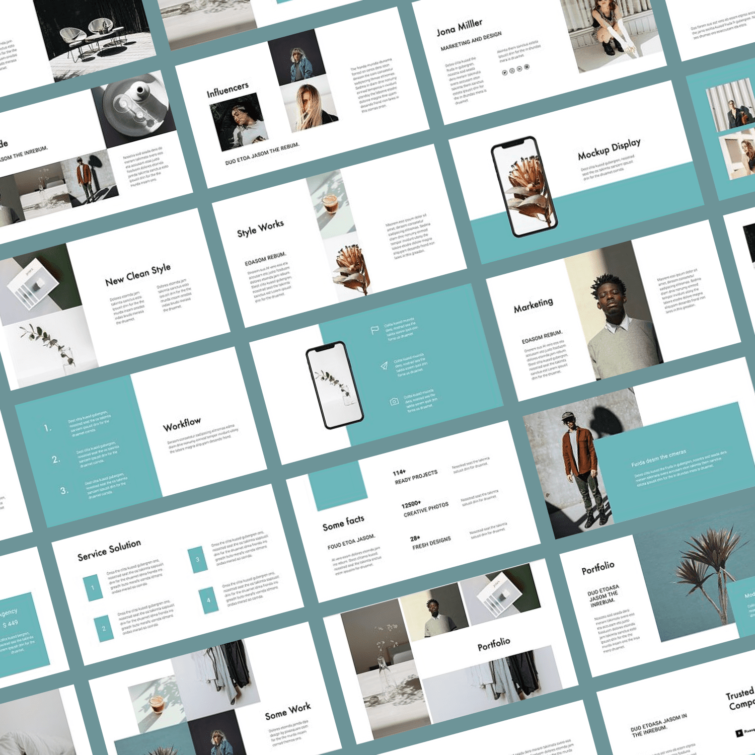 This is a great two-tone template for an interesting theme.
