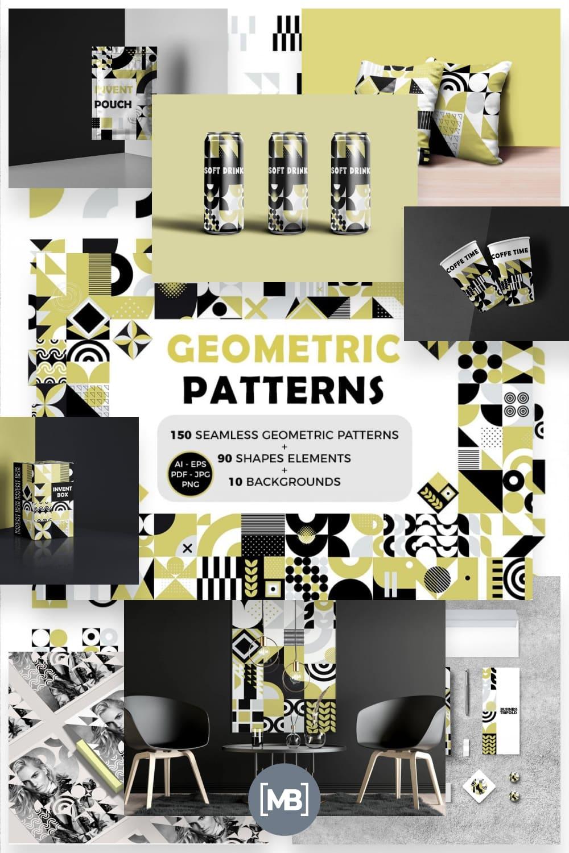 Eye catching Seamless Geometric Backgrounds pinterest.