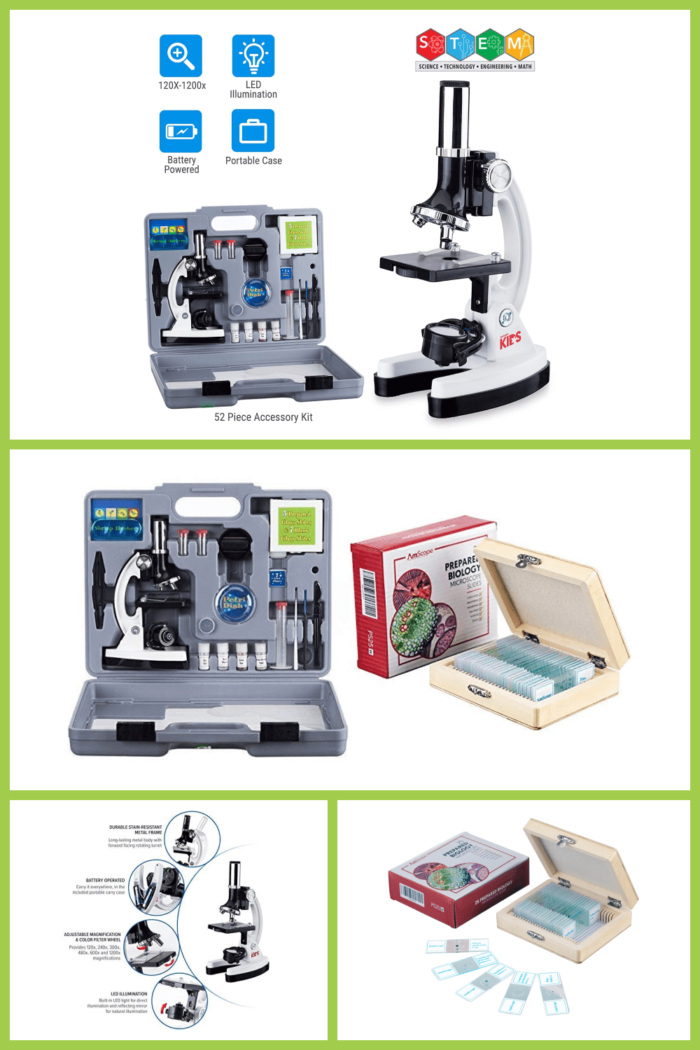 Multifunctional set for biology. This device will help you study bacteria and germs with maximum accuracy.