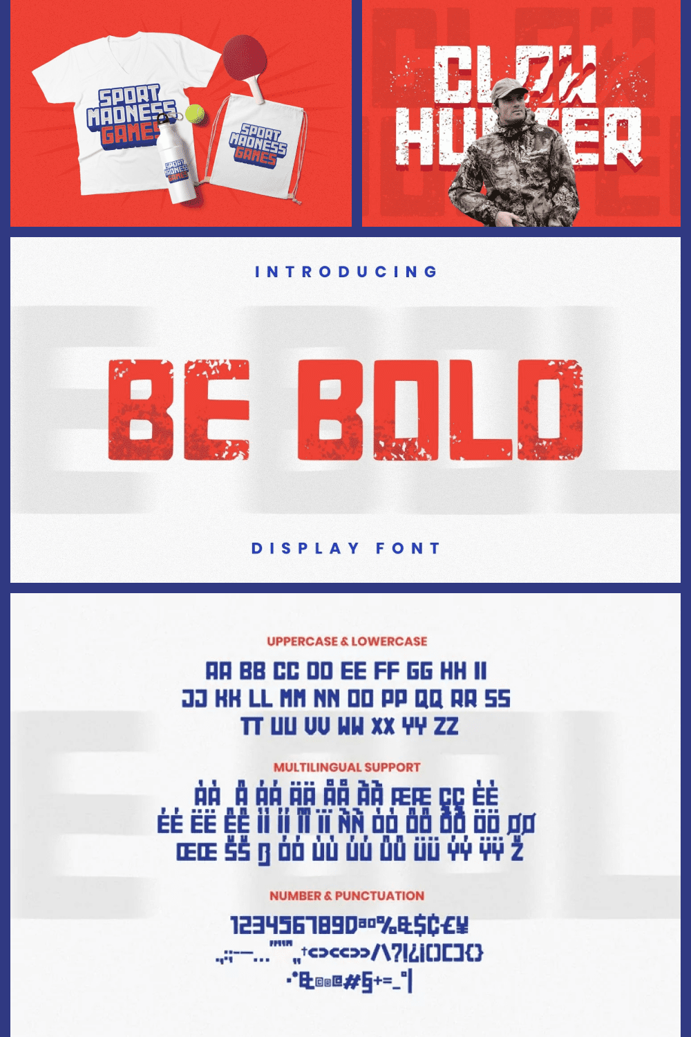 Be bold font.
