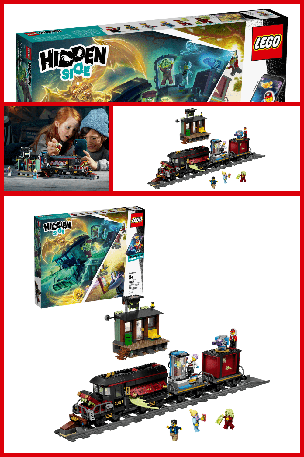 Lego is a classic in the toy category. Here you can build a city and become the owner of a railway station.