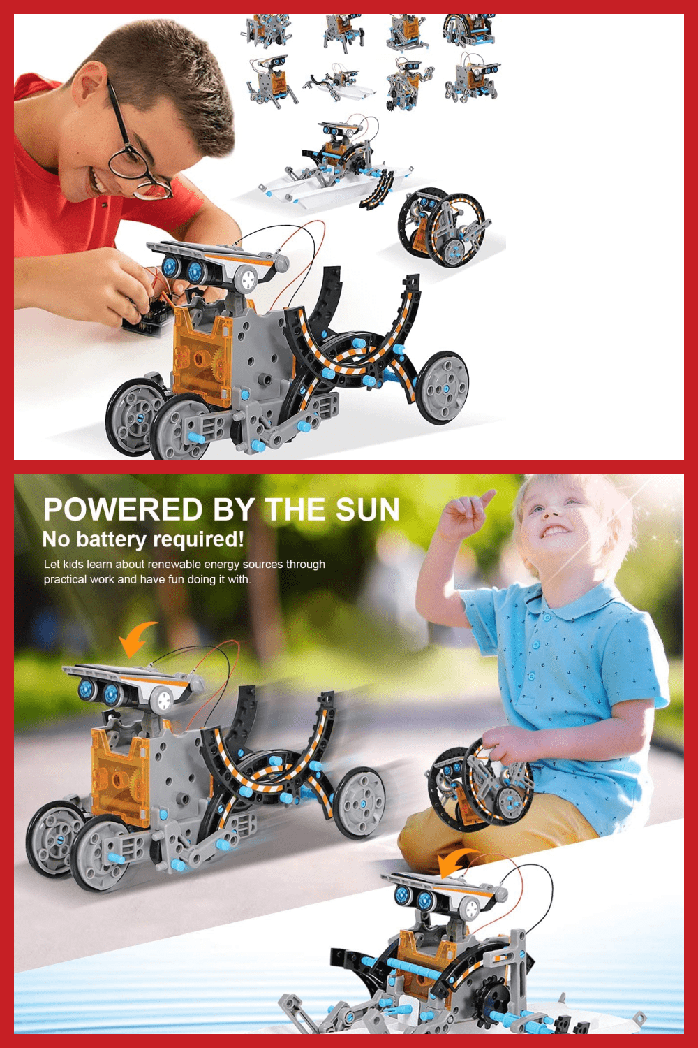Fine motor skills are an important skill for any child. This toy will allow you to develop not only fine motor skills, but also your imagination.