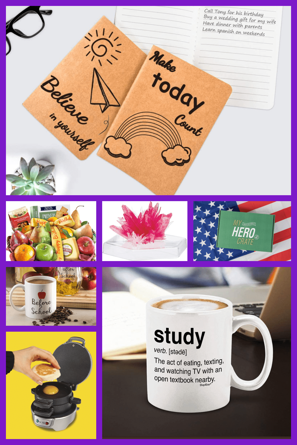 Best Back to School Gifts for Teachers, Students and Kids Pinterest.